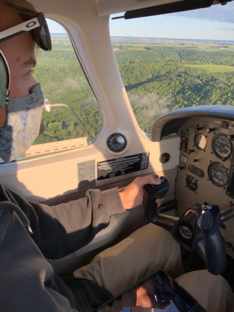 Brad Suhr Flying