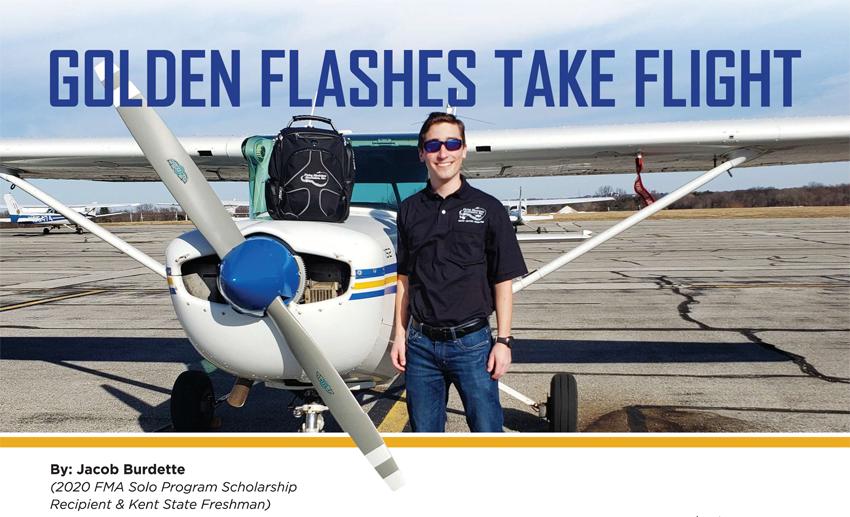 Golden Flashes Take Flight